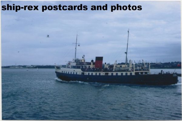 BALMORAL (1949a, Red Funnel) photo (a)
